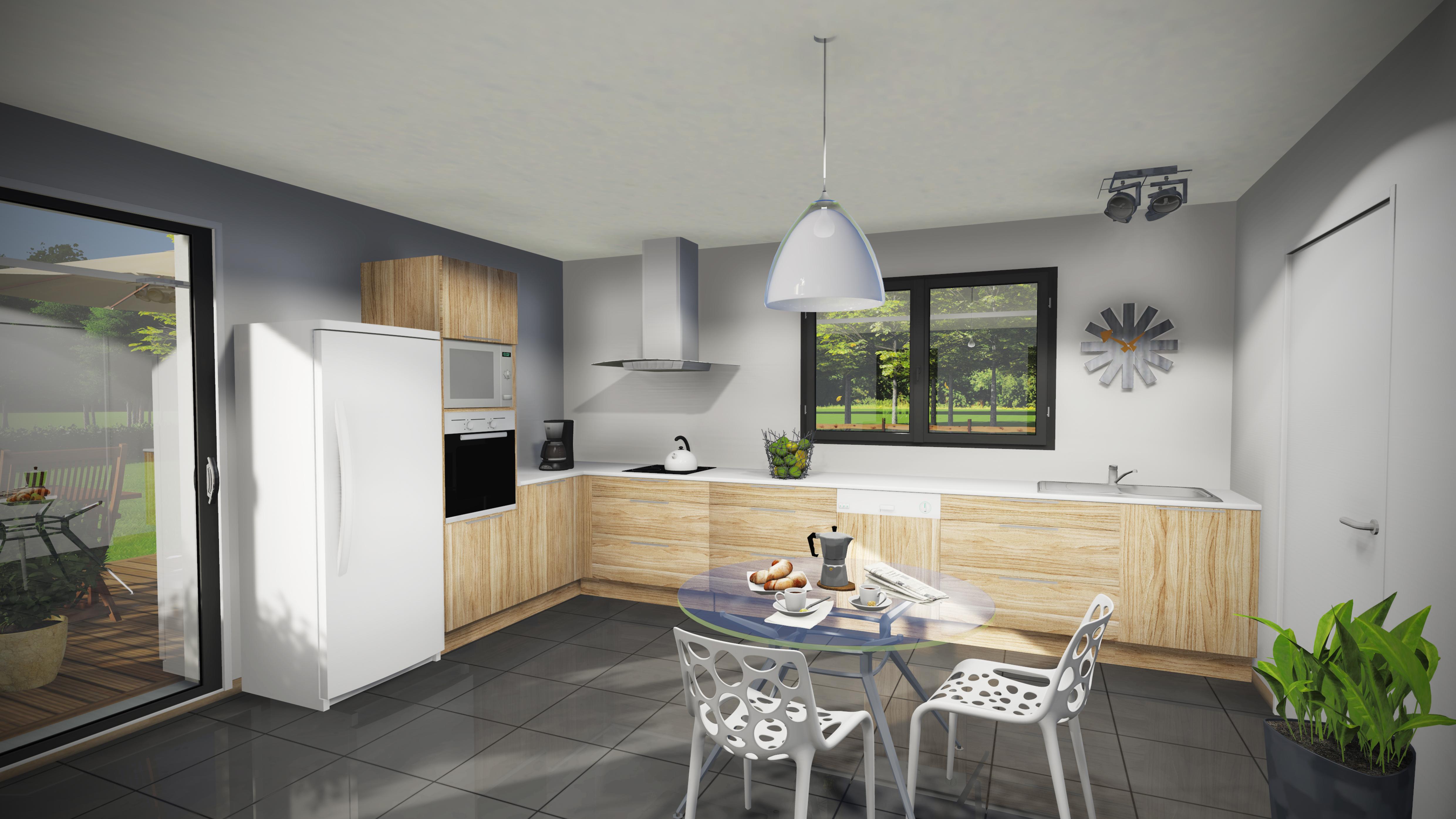 maison bois premium combles am nageables so habitat. Black Bedroom Furniture Sets. Home Design Ideas